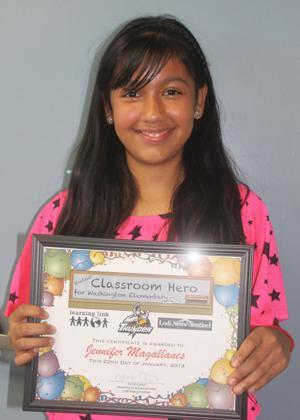 Washington Elementary School Classroom Heroes