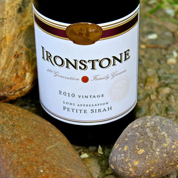 Spice it up with the 2010 Ironstone Lodi Petite Sirah