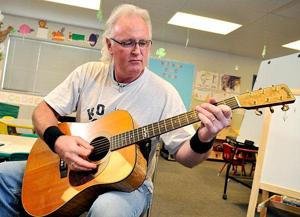Instructor Dave Miller fueled by love of rock, heavy metal