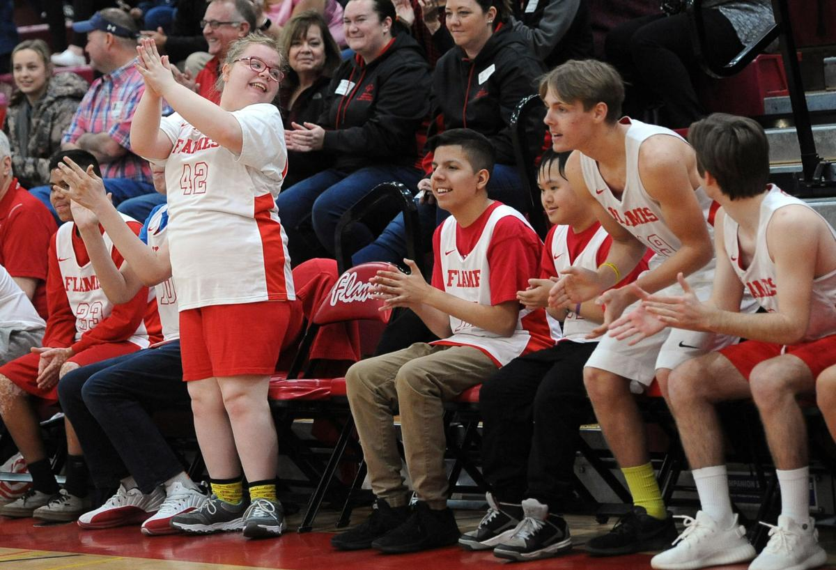 Special needs basketball event brings LUSD schools together