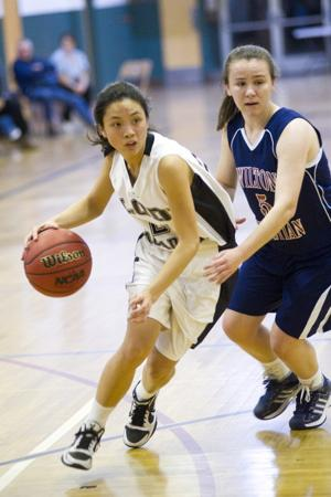 Lody Academy Titans can't escape Wilton Christian in girls basketball