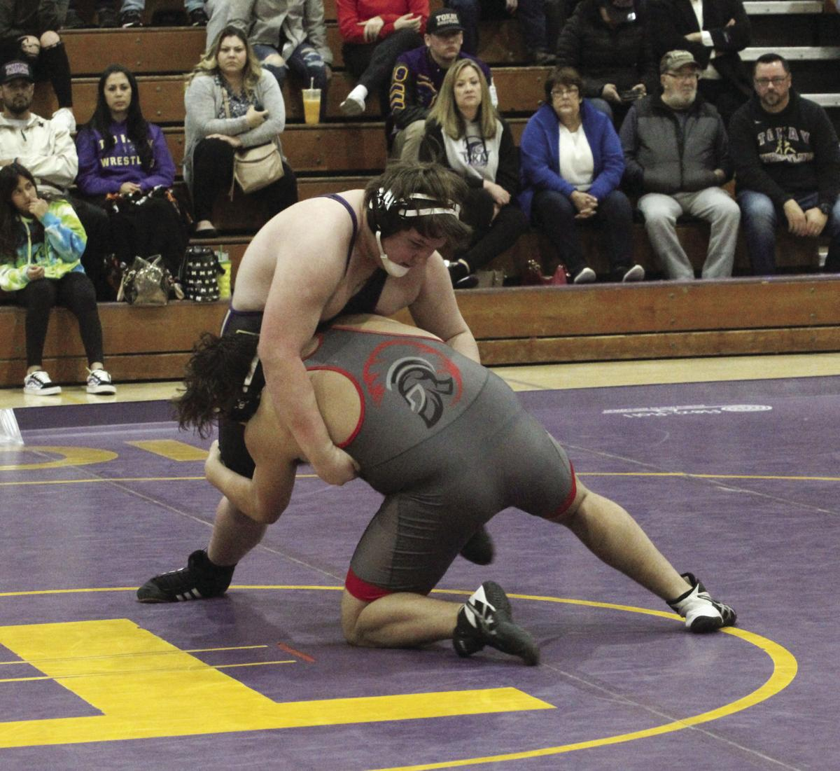 Wrestling: Tokay upended by Lincoln