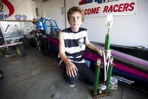 Lodi drag racer Garrett Easley, 13, living life in the fast lane