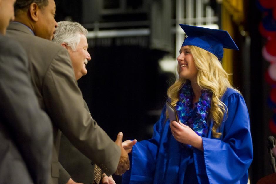 Independence High School graduation