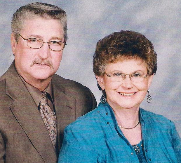 Frank and Luella Bitz celebrated 50 years of marriage in November
