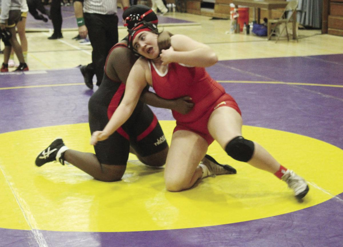 Girls wrestling: Tokay third at own event