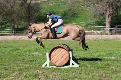 Liberty Oaks Pony Club members attend cross country course jump event
