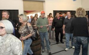 Painting the town red at Spring Wine Show