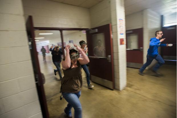 Local police train for emergency scenarios at Lodi High School