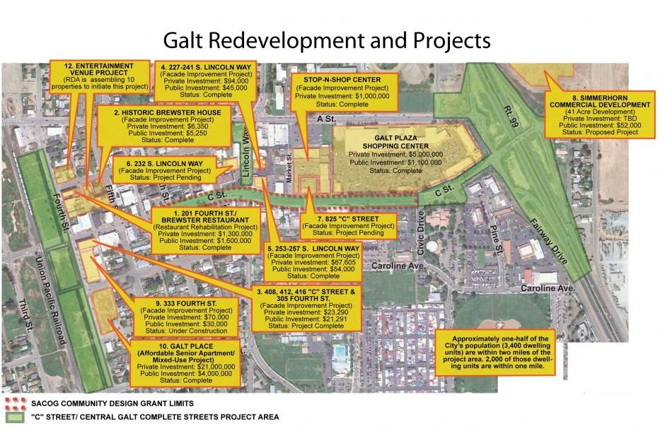 Redevelopment funds help Galt in effort to spruce up downtown area