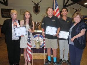 Lodi Elks present scholarships and essay awards