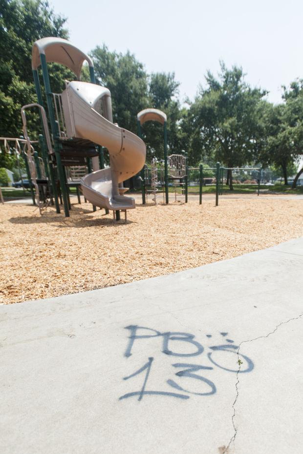 Gang members tag Legion Park with graffiti — again