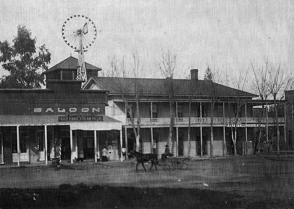 Lodi Sun weekly newspaper captured city life in December 1896