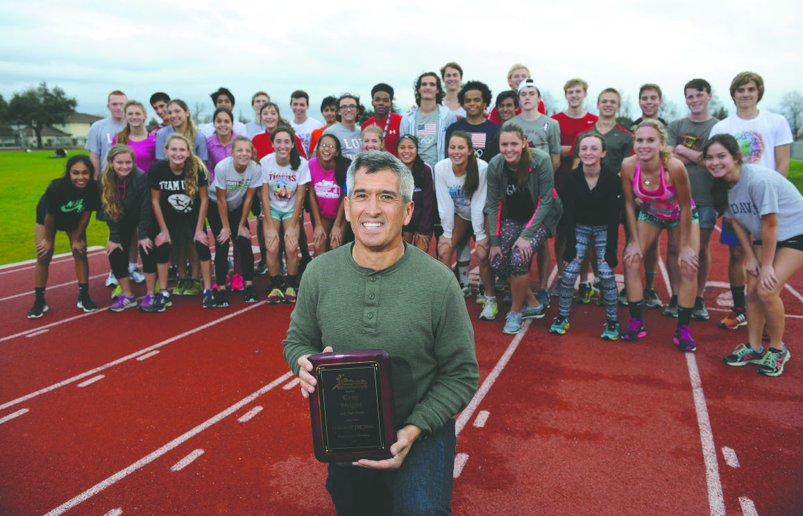 Pole vaulting coach of the year: The 'Wright' stuff