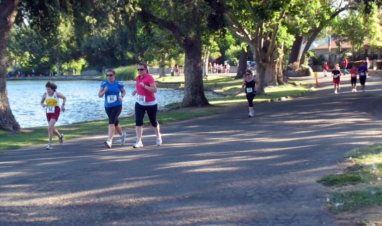 Beautiful conditions greet participants for Trix 5K Run