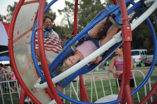 Freedom Fest parties under rockets' red glare