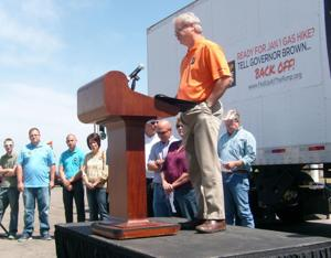 Coalition kicks off campaign to battle scheduled statewide gas hike in Lodi