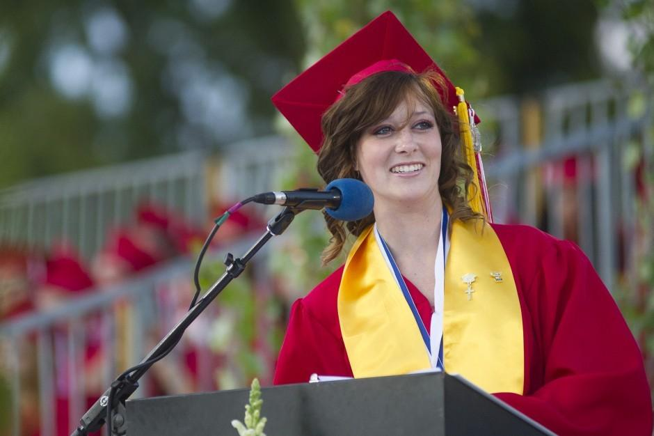 Valedictorian Hailey MacLeod first Galt High School graduate headed to U.S. Air Force Academy