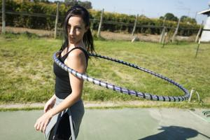 Lodi's Heidi Pfeifle hopes to shine spotlight on hoop dancing