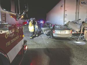 Six people injured in two Lodi collisions