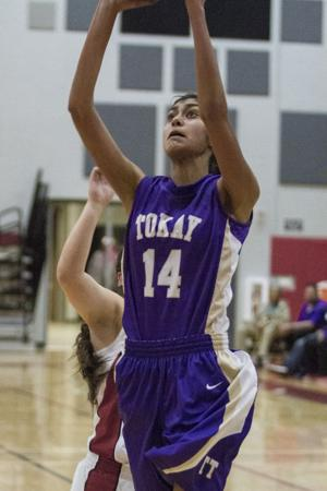 Girls basketball: Trojans trip up Tigers