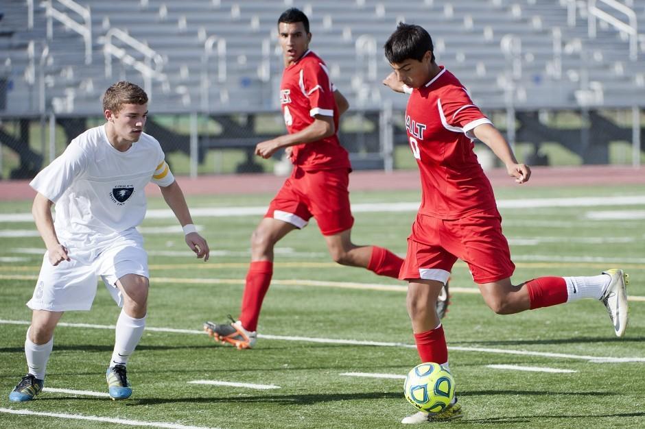 Warriors fall short in varsity boys soccer final