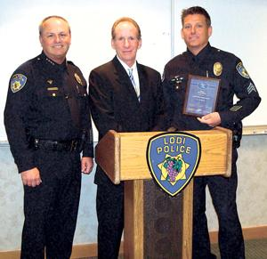 Lodi police honored for traffic enforcement