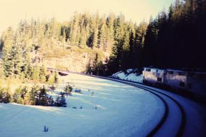 Enjoy mountain scenery on the California Zephyr