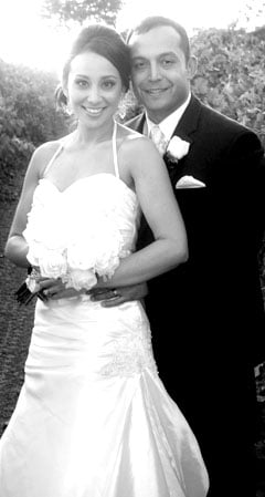 Dana Valtierra and Gregory Swanson married