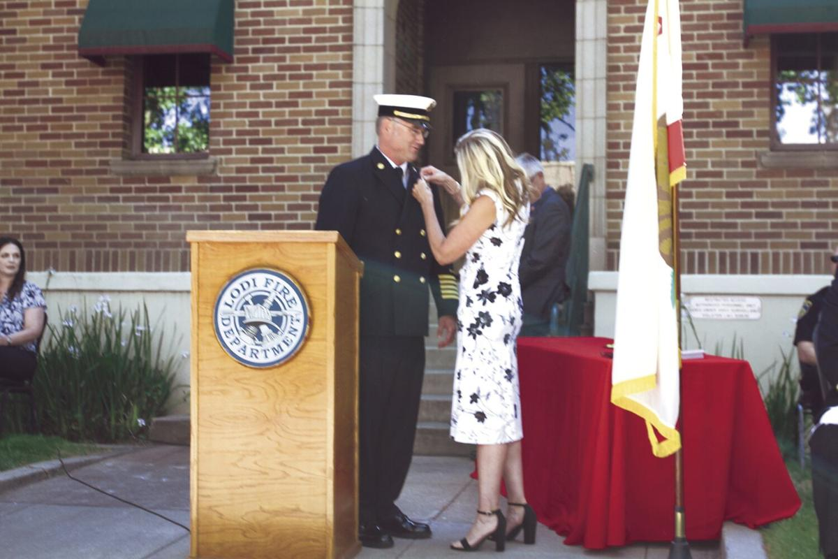 Lodi's new fire chief embraces call to service