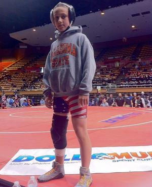 Carter Bozovich pins down state championship