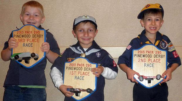 Boy Scouts compete in Lodi Elks Lodge's Pinewood Derby