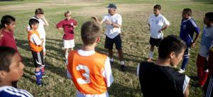 Lodi soccer coach Mark Whittock plays to beat local gangs