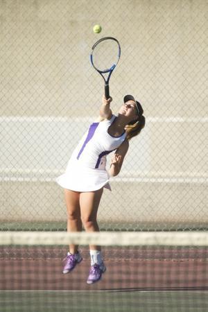 Tokay sweeps Edison in girls tennis