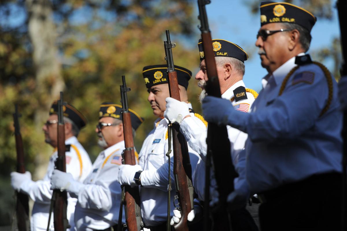 Veterans honored in Lodi this weekend