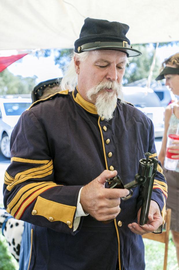 Living History and Civil War encampment in Lockeford