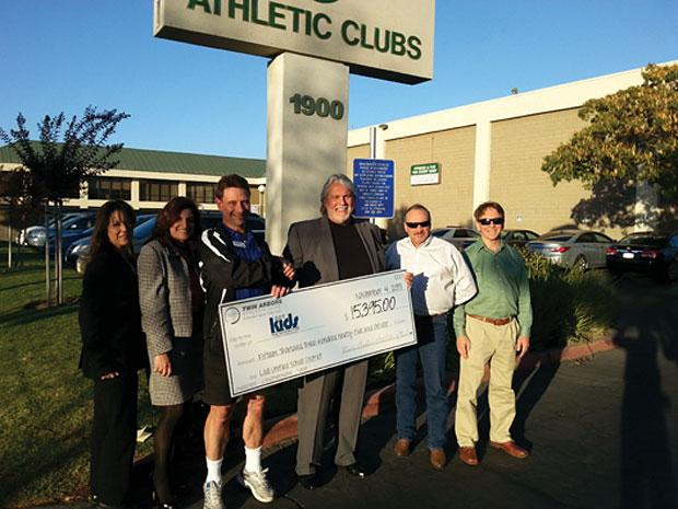 Twin Arbors Athletic Club raises more than $15,000 for Lodi Unified School District
