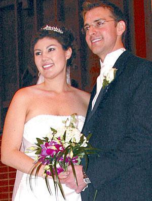 Ensminger, Wong spent honeymoon on cruise