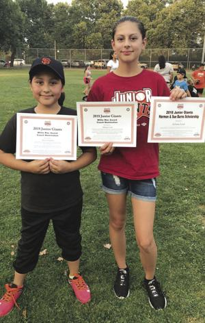 Youth sports: Junior Giants recognize players, volunteers