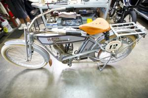 Lodi man 'obsessed' with antique motorcycles