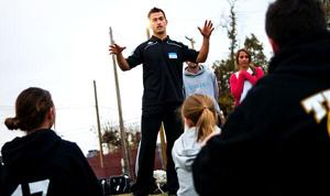 Patrick Ianni, assistants give back at soccer camp