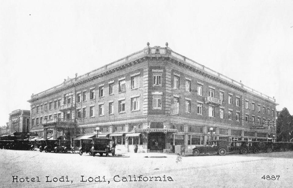 Hotel Lodi celebrates grand opening a century ago