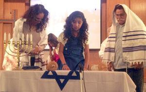Twins celebrate bat mitzvah at Beth Hallel