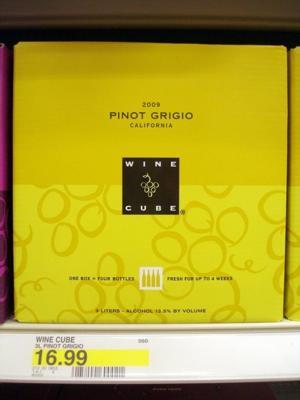 Target's Wine Cube