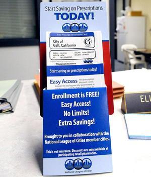 Discount cards providing prescription relief in Galt