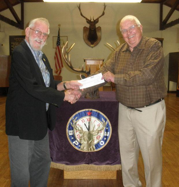 Lodi Elks Lodge donates to Lodi Adopt-A-Child