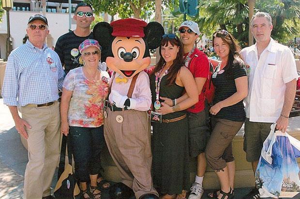 David and Barbara Vietmeier visit Disneyland for their 50th anniversary