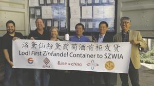 Lodi winery makes first shipment to China as tariffs loom