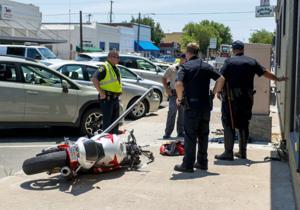 Man driving motorcycle dies in Downtown Lodi crash