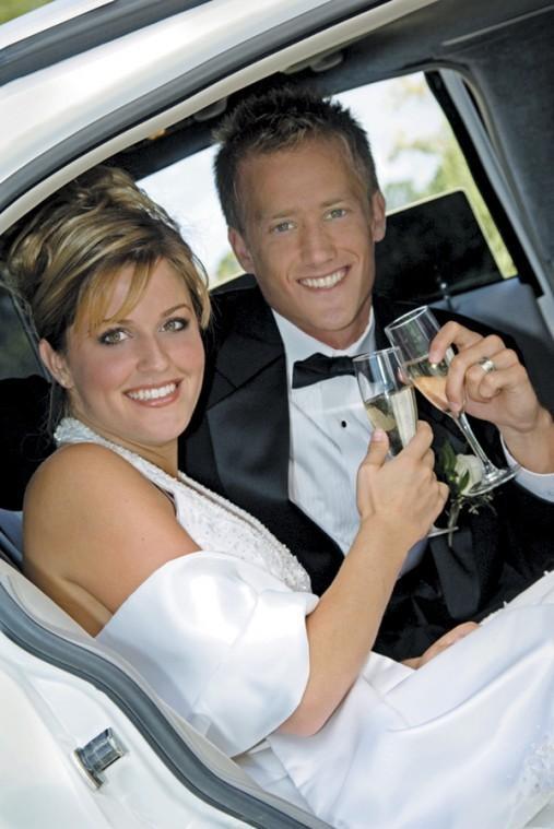 Wedding day transportation options are bountiful